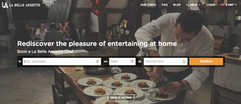 Notre page d'accueil en 2014