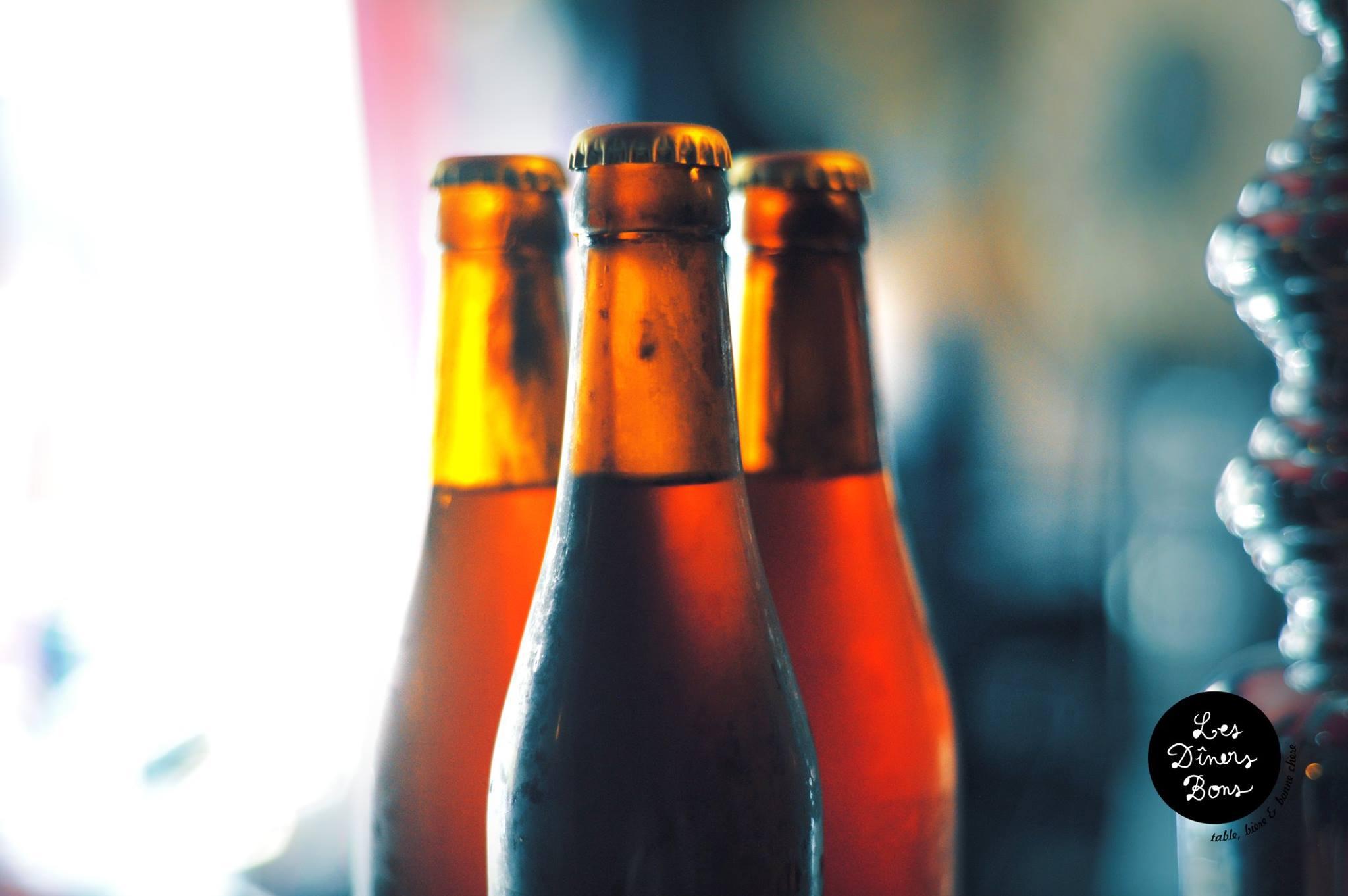 Bière bouteilles - Sources Les Dîners Bons