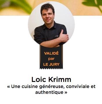 Chef Loïc Krimm - La Belle Assiette