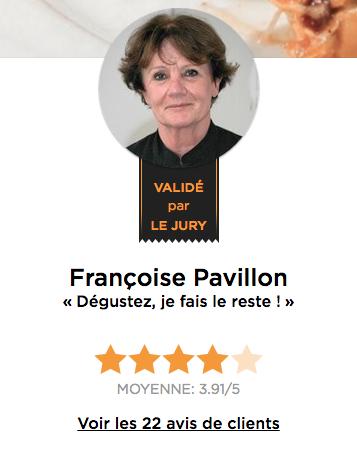 Chef Françoise Pavillon