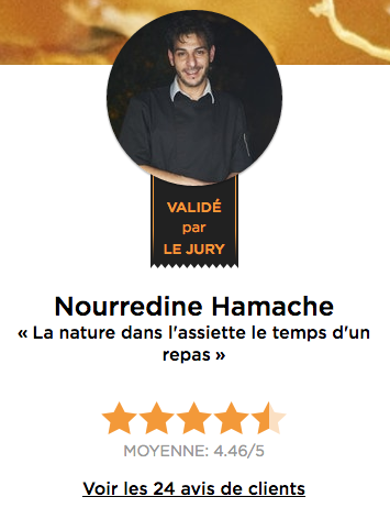 Chef Nourredine Hamache