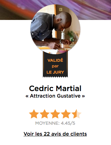 Chef Cédric Martial
