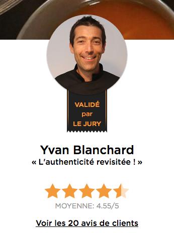 Chef Yvan Blanchard
