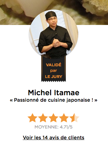 Chef Michel Itamae