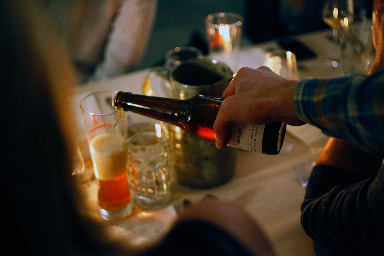 Bière banquet - Source Les Dîners Bons