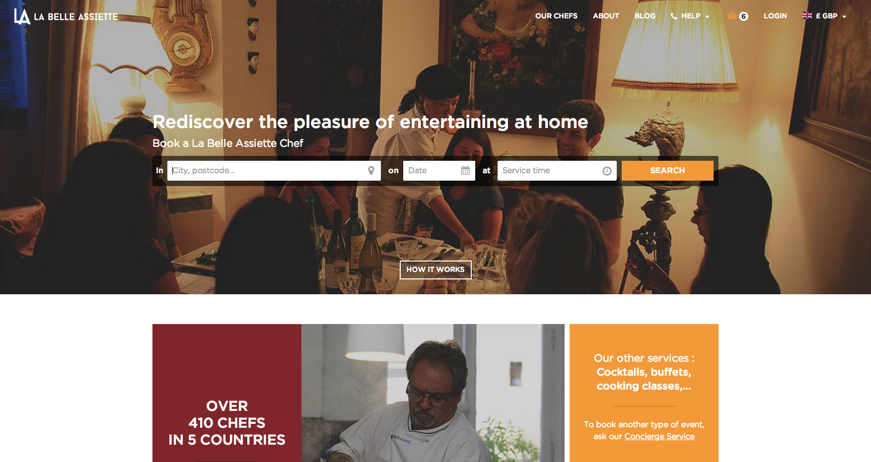 homepage la belle assiette