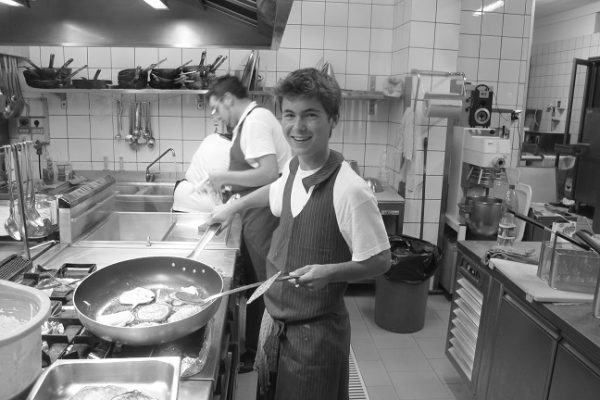 Ben, Summer trainee at La Belle Assiette