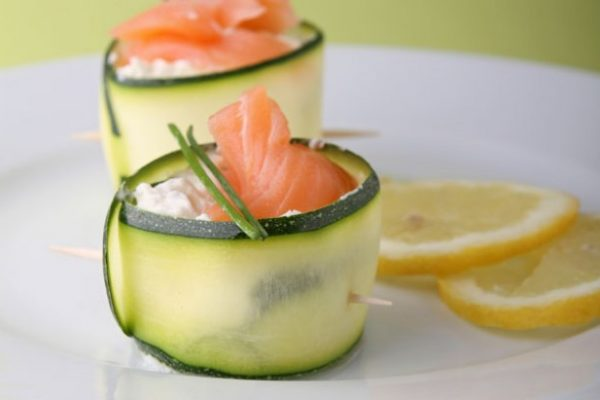 Summer canapes ideas