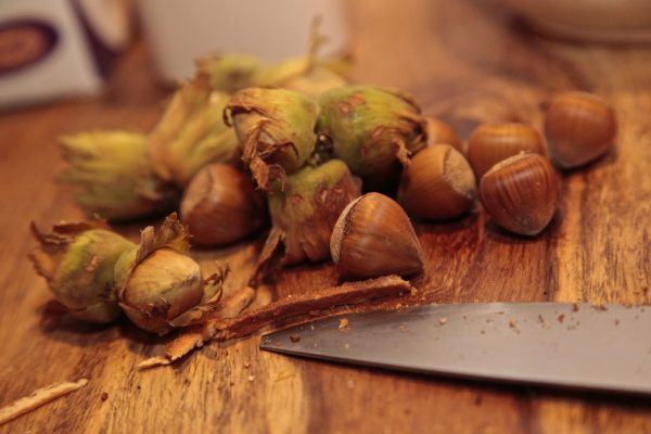 Office snacks: nuts