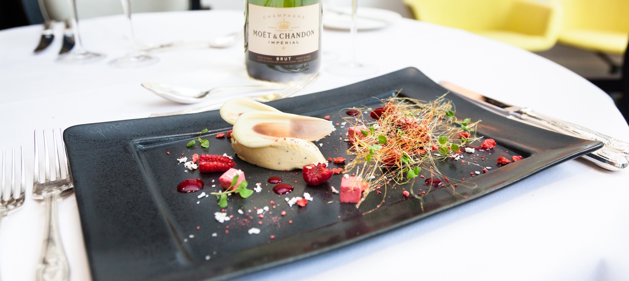 The ultimate indulgence mot hennessy champagne paired menus la the minerality and acidity make the perfect pairing for many different foods mot hennessy forumfinder Choice Image