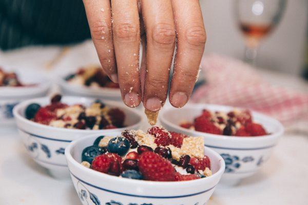 Office snacks: berries