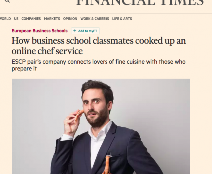 Financial Times La Belle Assiette