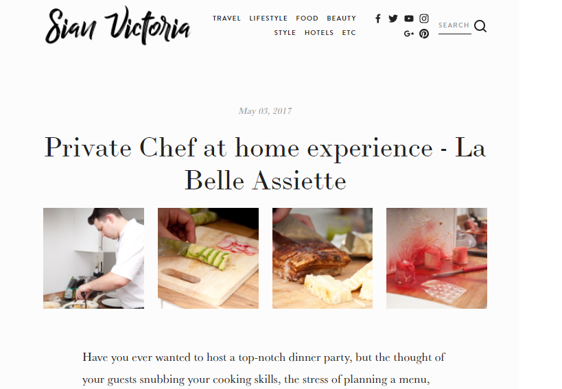 la belle assiette press may