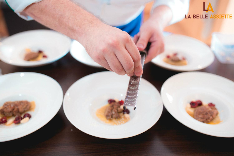 Pierre Guichon chef à domicile pour La Belle Assiette