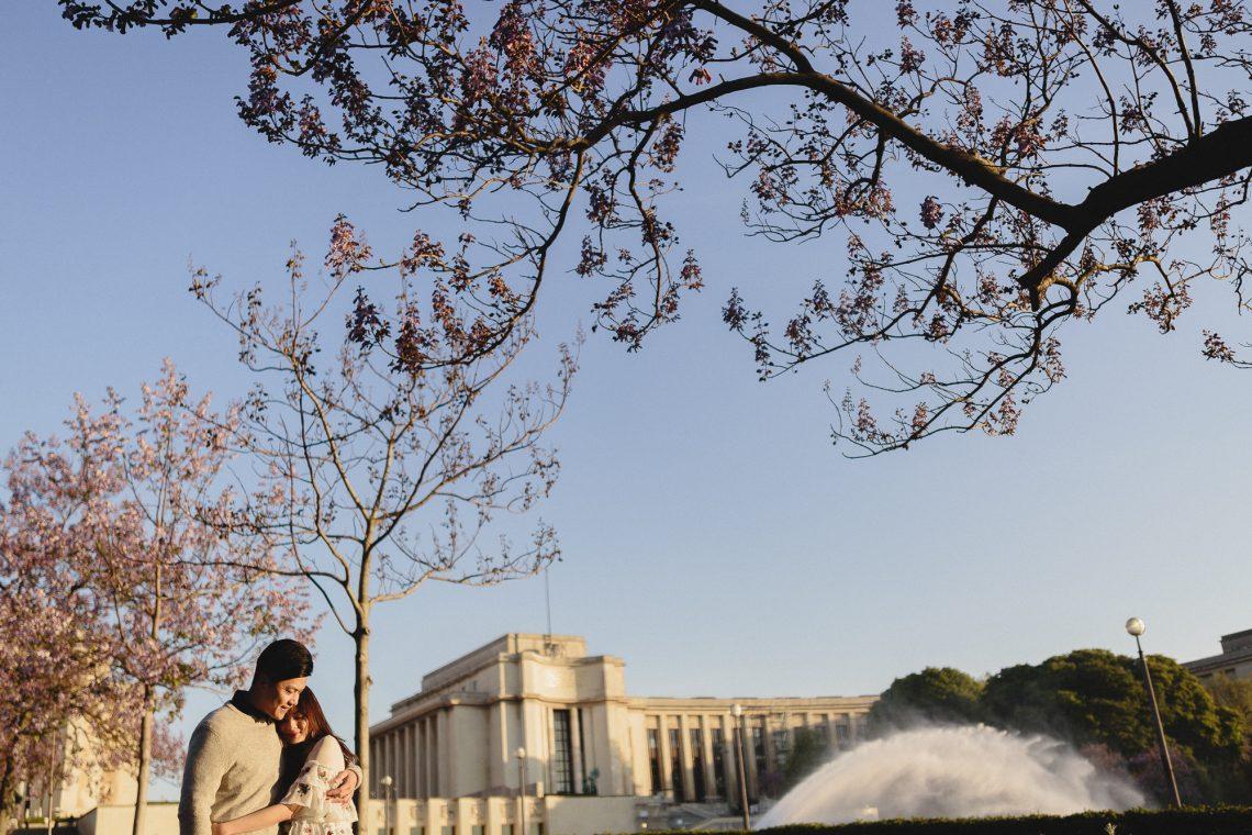 Couple Photography Paris Eiffel Tower