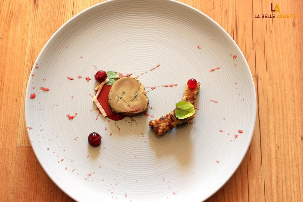 Foie gras mi cuit erable